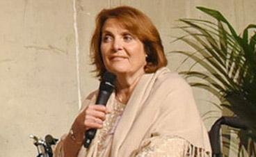 Kornelia Grundmann informiert gerne über Barrierefreiheit im Tourismus