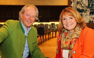 Kornelia Grundmann und ihr Mann Ralf Grundmann bei einer Veranstaltung